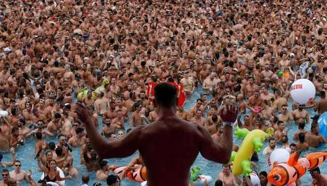 Poolside at LGBT Circuit festival in Barcelona | Photos | LGBT Destinations | Scoop.it