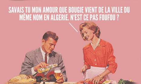 Top 12 des mots français d'origine arabe, le top pour se la péter dans les dîners mondains | Curiosités planétaires | Scoop.it