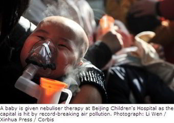 Chinas air pollution results from unchecked government, says top ... | Pollution and Human Health | Scoop.it