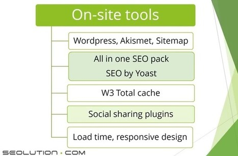 On-site SEO Actionable Tips | Search Engine Optimization | Scoop.it