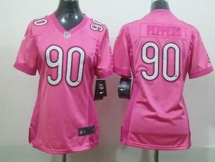 Buy New Cheap Nike Chicago Bears #90 Julius Peppers Elite Pink Be Luv'd Fashion Women NFL Stitched Jersey USA Free Shipping Trustable Online Stores. [NFLJERSEY3013] - $22.99 | cheap jerseys nfl from usa | Scoop.it