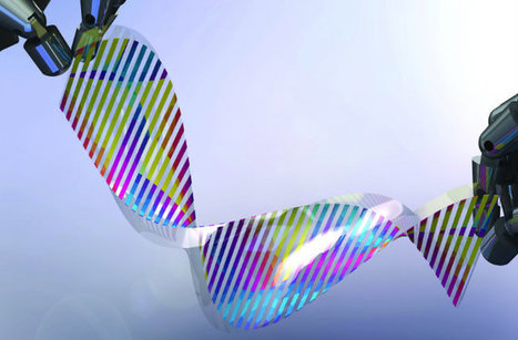 Chameleon-like Material Changes Color On Demand | Biomimicry | Scoop.it