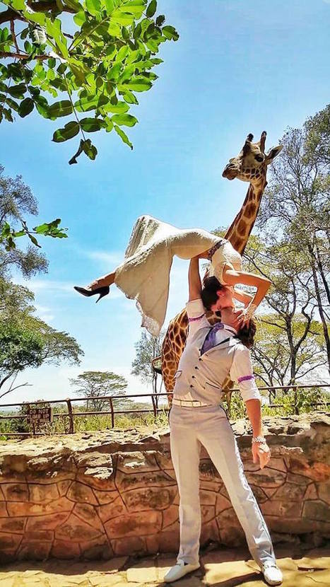 Adventurous Acrobat Couple Gets Married in 38 Different Places Around the World in 83 Days | Le It e Amo ✪ | Scoop.it