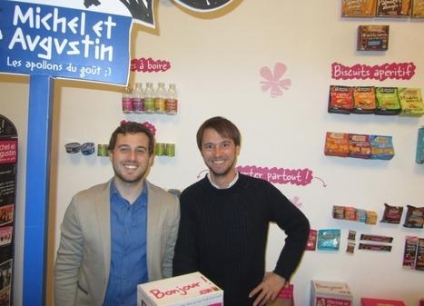 Mariage du yaourt et des réseaux sociaux : Michel & Augustin s'installent à Lyon | Claire | Scoop.it