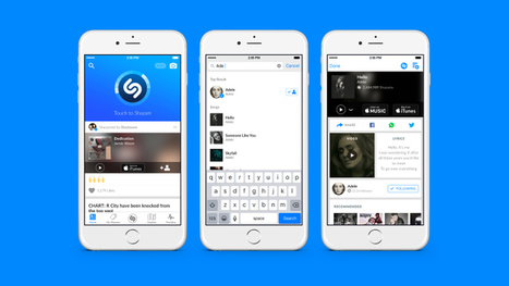 Shazam Update Offers Better Search, Faster Song Recognition | MUSIC:ENTER | Scoop.it