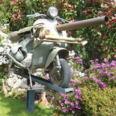 Insane Cannon Equipped Vespa Heads To Auction | The Daily Vespafans | Scoop.it