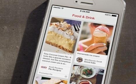 Pinterest : les pins sponsorisés débarquent sur le réseau social | FrenchWeb.fr | Social media | Scoop.it