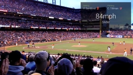 This Google Glass baseball app brings real-time game info directly to your face | 4D Pipeline - trends & breaking news in Visualization, Virtual Reality, Augmented Reality, 3D, Mobile, and CAD. | Scoop.it