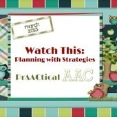 Watch this- Planning with Strategies | AAC: Augmentative and Alternative Communication | Scoop.it