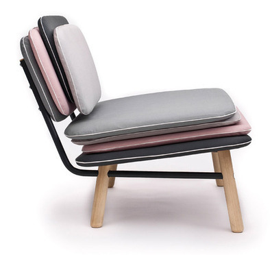 "Evolutive chairs / ""Stack"" by Skrivo Design 