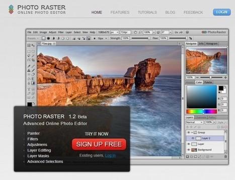 4 editores de imágenes online que se parecen a Photoshop | pasion por el aprendizaje online | Scoop.it