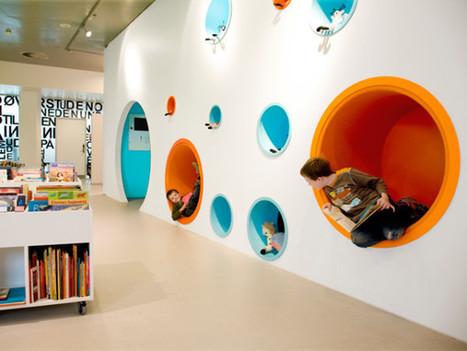 De la cárcel a Starbucks. Sobre la arquitectura, el diseño de espacios y de mobiliario como elementos clave en el cambio de paradigma en educación | ser o no ser | Scoop.it