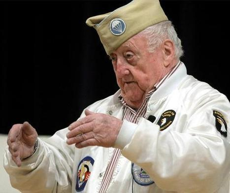 'Band of Brothers' World War II veteran with local ties dies - Montgomery Newspapers | World at War | Scoop.it