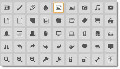 IcoMoon, más de 1800 iconos vectoriales gratuitos | RedDOLAC | Scoop.it