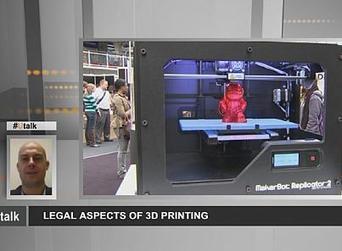 L'impression 3D fabrique aussi des questions juridiques | 3D | Scoop.it