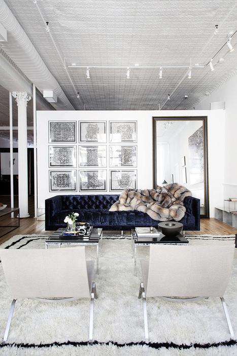 Un showroom conçu comme un intérieur - Frenchy Fancy | TAFT: Trends And Fashion Timeline | Scoop.it