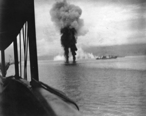 13th November 1942:  U.S. and Japanese clash off Guadalcanal | History Around the Net | Scoop.it