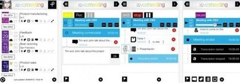 evermeeting – Para crear, registrar, grabar y compartir reuniones desde iPhone o iPad | Educacioaunclic | Scoop.it