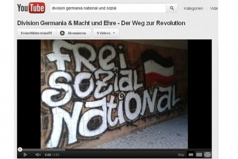 bpb.de - Dossier Rechtsextremismus - Schwerpunkt Medien – Neonazis auf YouTube | The End of TV as we know it? Influences, Changes & Chances of the Internet on (Public Broadcasting) Television | Scoop.it