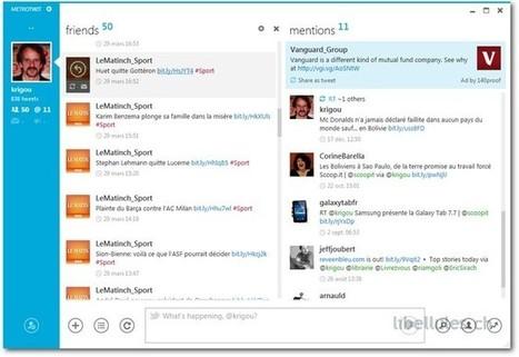 MetroTwit - Le blog de libellules.ch | Geeks | Scoop.it