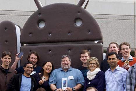 Steve Wozniak rêve d'un partenariat entre Apple et Google | iOS VS Android | Scoop.it