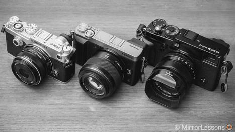 Fuji X-Pro2 vs. Olympus Pen F vs. Panasonic GX85 - The monochrome battle | Mirrorless Cameras | Scoop.it