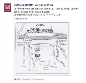 Jim's Loire: Domaine Dozon, Chinon: Balades et pique-niques dans les vignes: Le 8 juillet | DOMAINES ET CHATEAUX AOC CHINON | Scoop.it
