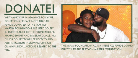 The Trayvon Martin Foundation | Traveling Through Time | Scoop.it