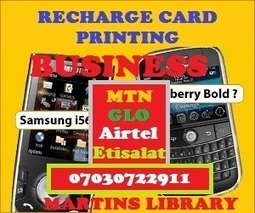 DOWNLOAD AND GET FREE RECHARGE CARD PRINTING BUSINESS SOFTWARE AND MANUAL | RECHARGE CARD PRINTING BUSINESS IN NIGERIA  - GET AUTHORIZED DEALER PACKAGE: CALL +2347030722911 | Scoop.it
