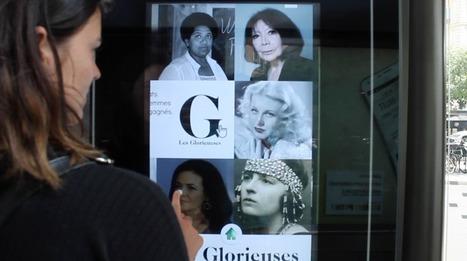 Le féminisme à l'honneur dans les abribus parisiens   Orlando and Co   Scoop.it