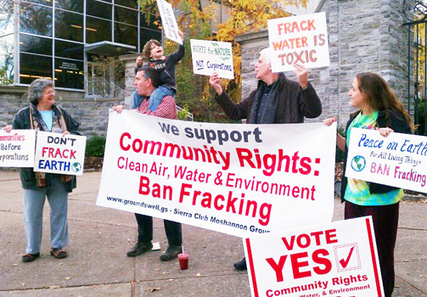 Vote Elevates Community Rights Over Corporate Privileges—Bans Fracking and Injection Wells | EcoWatch | Scoop.it