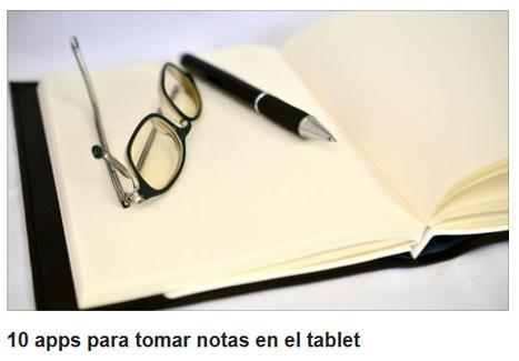 10 apps para tomar notas en el tablet - Educación 3.0 | FOTOTECA INFANTIL | Scoop.it