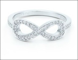 Reveal your artistic side by wearing the gorgeous tiffany infinity ring | Ring Ideas | Scoop.it