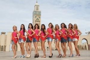 BLASPHÈME – Des Miss Belgique posent court vêtues devant la mosquée Hassan II | Belgitude | Scoop.it