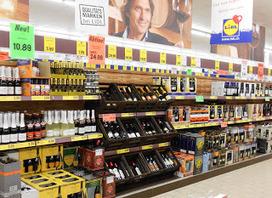 Oui, j'aime le Marketing !: Même Lidl soigne la présentation des vins !   La mise en valeur de l'offre du vin   Scoop.it