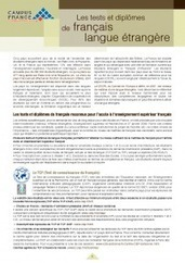Tests of and Degrees in French as a foreign language - tice | ELT Articles Worth Reading (mostly ELT) | Scoop.it