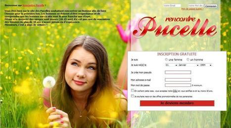 Rencontre pucelle:le site de rencontre pour les femmes vierge | Les sites de rencontres:Actualité et nouveautés | Scoop.it