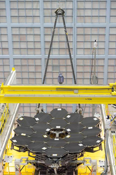 NASA's James Webb Space Telescope Primary Mirror Fully Assembled | STEM Connections | Scoop.it