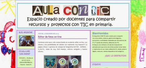 Educación y Blogs (EyB): AULA CON TIC | Recursos Primaria | Scoop.it