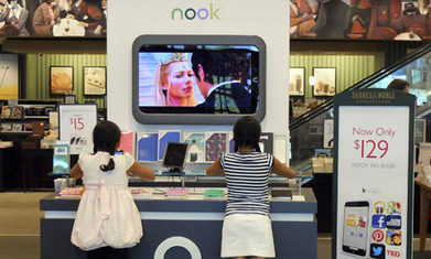 Kindle rival the Nook stumbles, but what is the next chapter for e-readers? | Ebook and Publishing | Scoop.it