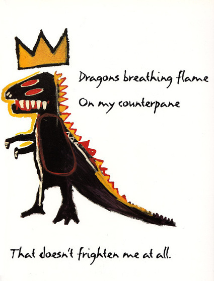 Basquiat's illustrations to Maya Angelou's children verses | D_sign | Scoop.it