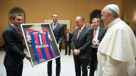Players meet the Pope | Young Germany | Scoop.it