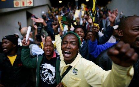 Rowdy Crowds Mar Mandela's Memorial - Daily Beast | Turismo Málaga | Scoop.it