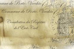 Corse-du-Sud : l'état civil de Porto-Vecchio en ligne | Histoire Familiale | Scoop.it