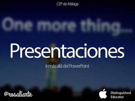 Presentaciones: ir más allá del PowerPoint | Educacion, ecologia y TIC | Scoop.it