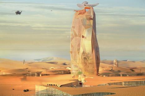 Futuristic self-sufficient vertical city rises from the Sahara Desert | Peer2Politics | Scoop.it