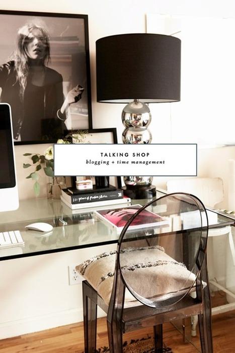Talking Shop: Blogging and Time Management | Real PRO Blog Advisor | Scoop.it