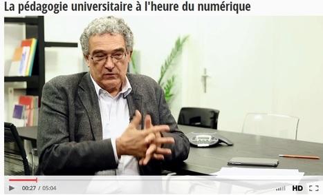 Piloter le numérique dans un établissement du supérieur - Interview de Claude Bertrand | IDEFI: Initiatives d'excellence en formations innovantes | Scoop.it