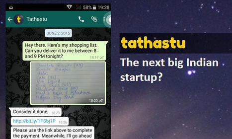 Hot in News - Tathastu, a WhatsApp Based Personal Assistance Service | internet marketing | Scoop.it