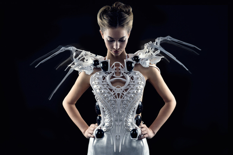 Anouk's New Creation: Intel Edison Based Spider Dress 2.0 | Biomimétisme Biomimicry | Scoop.it